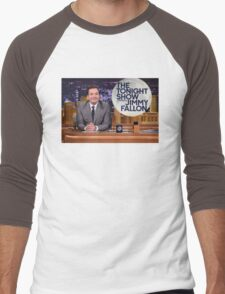 Tonight Show Jimmy Fallon Men's Baseball ¾ T-Shirt