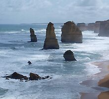 Great Ocean Road # 12 by Virginia McGowan