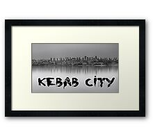 Photo of Kebab City ADANA in Hdr... Framed Print