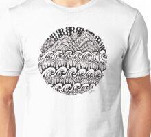 Hills Over Waves Unisex T-Shirt
