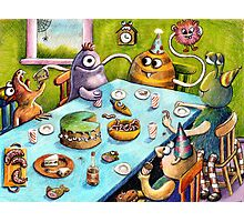 monster party Photographic Print