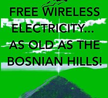 Free Energy Bosnian Pyramids by Claritea
