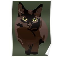 Wooly Kitty Poster