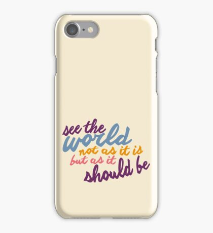 See The World #2 iPhone Case/Skin