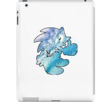 Sonic waves iPad Case/Skin