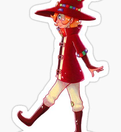 Young Traveler Sticker
