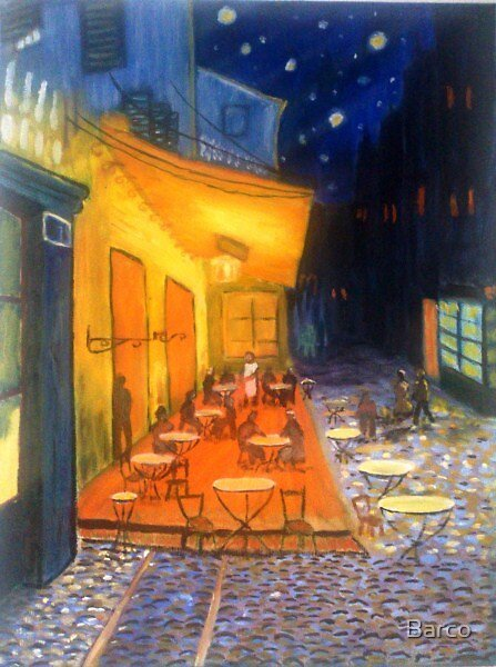 Starry Night a tribute to Vincent Van Gough by Barco