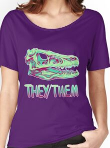 Velociraptor Skull Women's Relaxed Fit T-Shirt