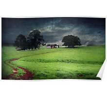 A stormy day in Dorrigo Poster