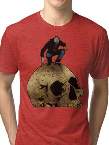 Leroy And The Giant's Giant Skull Tri-blend T-Shirt