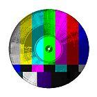 Visual Vinyl square  by Phillip J. Mellen