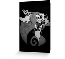 The Nightmare Before Adventure Time Greeting Card