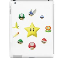 Mario Item circle iPad Case/Skin
