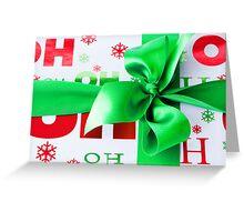 Ho,Ho Ho! Greeting Card