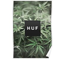HUF - WEED Poster
