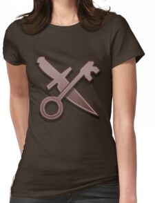 Guild Wars 2 Inspired Thief logo Womens Fitted T-Shirt