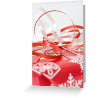 Ribbons and bows Greeting Card