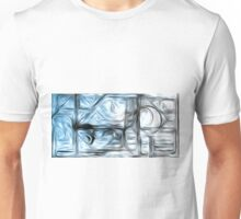 Abstract Shapes Oil Painting #3 Unisex T-Shirt