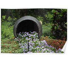 flower spill Poster