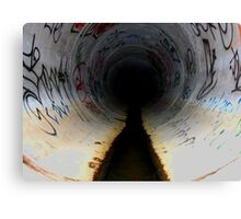 Sewer Seeker,San diego Tunnels Canvas Print