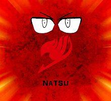 Natsu Dragneel by xbritt1001x