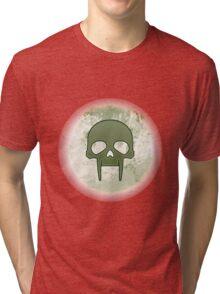 Guild Wars 2 Inspired Necromancer logo Tri-blend T-Shirt