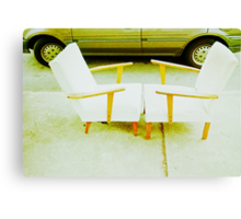 Chair Pair.... #1 Canvas Print