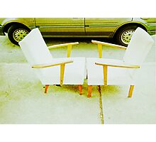 Chair Pair.... #1 Photographic Print