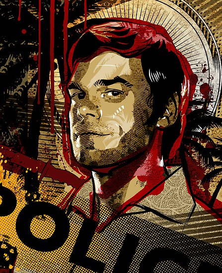 Dexter Morgan by jimiyo