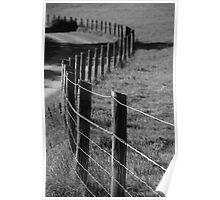 Never ending fence Poster
