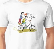 The Bicycle has Spoken! Unisex T-Shirt