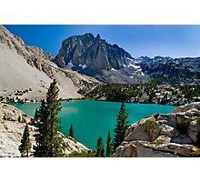 3rd Lake & Temple Crag Photographic Print