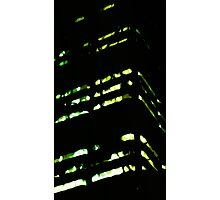 inner city lights Photographic Print