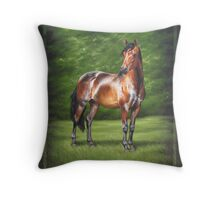 Equus Perfection Throw Pillow