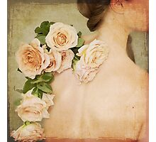 Tattoo of Roses Photographic Print