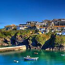 Port Isaac Cornwall by David Wilkins