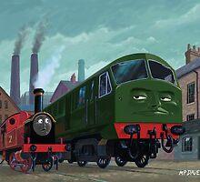 Big train little train by martyee