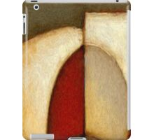 Abstract Circles Oil Painting iPad Case/Skin
