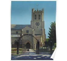 christchurch priory Poster