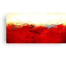 Abstract Colors Oil Painting #1 Canvas Print