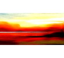 Abstract Colors Oil Painting #2 Photographic Print