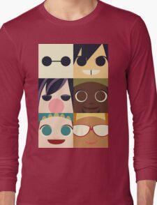 Big Hero Squares Long Sleeve T-Shirt