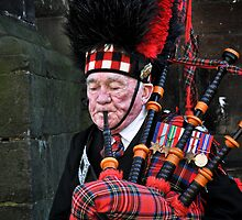 The Gentleman with Bagpipes by AnnieD