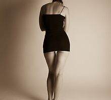 Very little black dress  by Philip Werner