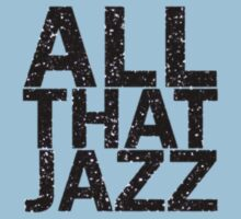 All That Jazz One Piece - Short Sleeve