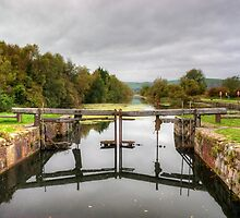 The Lock Gates by Jamie  Green