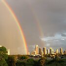Rainbow over Surfers Paradise by macl
