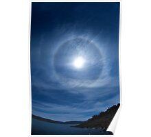 Solar Halo 2- Snowy Mountains Poster