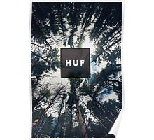 HUF - TREES 2 Poster