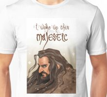 Woke up this majestic Unisex T-Shirt